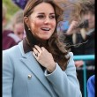 Kate Middleton incita al quarto mese, in Galles con William: il pancino cresce FOTO03
