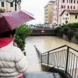 Alluvione Liguria: Chiavari sommersa, 2 dispersi01