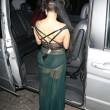 Lady Gaga porta a spasso il cane: il sexy abito velato mostra la lingerie04