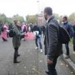 Bologna, Salvini al campo nomadi: tensioni tra leghisti e antagonisti FOTO 7