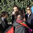 """Renzi a Brescia: """"Disegno per spaccare Italia"""". Fiom in piazza e scontri02"""