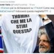 "Massimo Ferrero, nuova gaffe: ""Thohir me la stiri questa?"" retweettato (FOTO)"