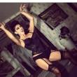 Sexy burlesque horror ad Halloween per la ex gieffina Claudia Letizia FOTO03