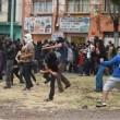 Città del Messico, scontri davanti parlamento per 43 studenti scomparsi0212