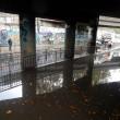 Maltempo. Bomba d'acqua su Roma Sud: grandine sul litorale, Colosseo allagato5