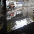 Maltempo. Bomba d'acqua su Roma Sud: grandine sul litorale, Colosseo allagato7