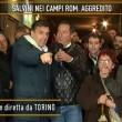 """Quinta Colonna, bomba carta in diretta: """"Questa non è la trasmissione degli zingari"""" VIDEO 3"""