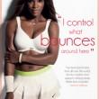 Serena Williams sexy: in mutande e reggiseno come testimonial di intimo FOTO