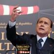 Berlusconi incorona Salvini leader tutte le facce dell'ex premier10
