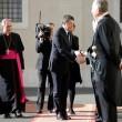 Matteo Renzi dal Papa con moglie e figli, sorrisi e strette di mano 02
