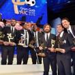 Gigi Buffon e Ilaria D'Amico, Pirlo e Baldini: debutto coppie juventine01