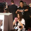 Victoria's Secret, foto backstage prima dello show 05