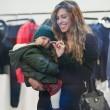 Belen e Ceclia Rodriguez, shopping con Santiago07