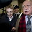 Alberto Stasi arriva al Tribunale di Milano per il processo bis (LaPresse)