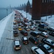 Mosca, tempesta di neve: voli cancellati e traffico in tilt 16