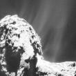 Rosetta, trovato ghiaccio d'acqua su superficie cometa 3