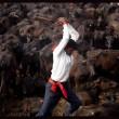 Nepal, il grande mattatoio: migliaia di animali macellati in onore di dea indu 07