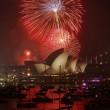 Capodanno a Sydney: 100mila fuochi d'artificio, 1 mln e 200mila in piazza FOTO16