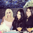 Lady Gaga, pole dance con le amiche all'addio al celibato06