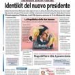 La prima pagina di Libero