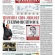 La prima pagina del Fatto Quotidiano