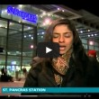 VIDEO YouTube Londra, moto investe donna in diretta tv (1)