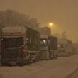 Maltempo, neve su A26. Autostrada chiusa fino a Novi Ligure, auto bloccate02