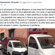 Roma, camion dei rifiuti abbandonato in divieto di sosta per 3 giorni 04