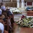 Anita Ekberg: i funerali, le immagini