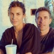 Elisabetta Canalis, Natale alle Bahamas col marito Brian Perri0