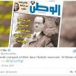 Hollande come Hitler su settimanale marocchino02