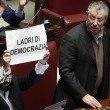 Lega Nord, cartelli Camera contro Corte Costituzionale13