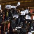 Lega Nord, cartelli Camera contro Corte Costituzionale01