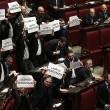 Lega Nord, cartelli Camera contro Corte Costituzionale09