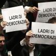 Lega Nord, cartelli Camera contro Corte Costituzionale06