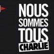Charlie Hebdo, stampa francese listata a lutto09