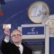 Lituania entra nell'Euro, foto cerimonia. Il benvenuto di Juncker e Draghi