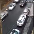 VIDEO YouTube: suv pattina sulla strada ghiacciata evitando le auto parcheggiate2