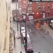 VIDEO YouTube: suv pattina sulla strada ghiacciata evitando le auto parcheggiate7