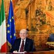 """Giancarlo Magalli al Quirinale, discorso ironico a """"Quelli che il calcio"""" VIDEO"""