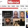 Charlie Hebdo, stampa francese listata a lutto16