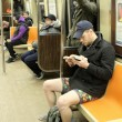 No Pants Subway ride, in mutande nella metro di New York16
