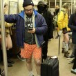 No Pants Subway ride, in mutande nella metro di New York15
