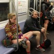 No Pants Subway ride, in mutande nella metro di New York02