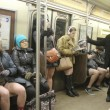 No Pants Subway ride, in mutande nella metro di New York020