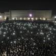 Pino Daniele, flash mob Piazza del Plebiscito01
