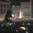 Pino Daniele, flash mob Piazza del Plebiscito20
