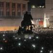 Pino Daniele, flash mob Piazza del Plebiscito3