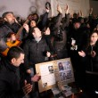 Pino Daniele, flash mob Piazza del Plebiscito6