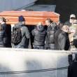 Pino Daniele, funerali Roma: lungo applauso accoglie feretro in chiesa 11